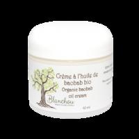 Crème à l'huile de baobab bio pour tous les types de peau.