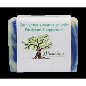 Savon eucalyptus et menthe poivrée